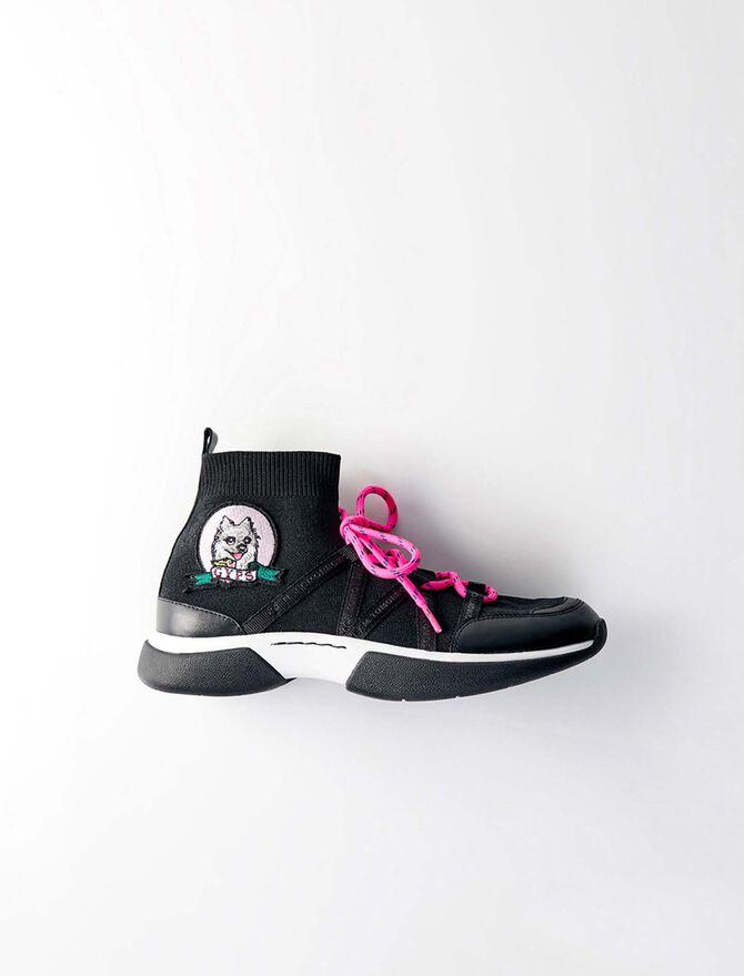 Gmeshyps W21 sneakers in Stretch - Sneakers - MAJE