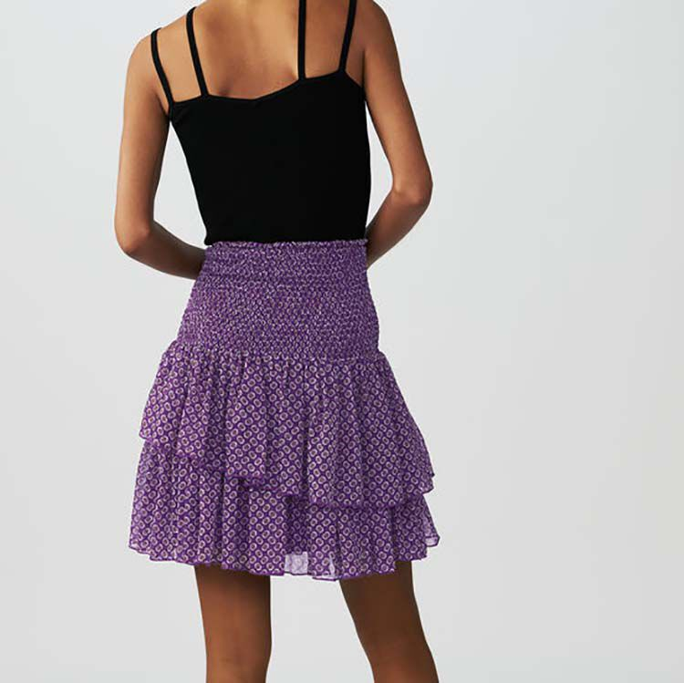 Printed ruffle skirt : Skirts & Shorts color PRINTED
