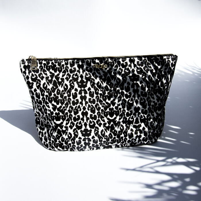 Vanity case : Gift with purchase color White / Black
