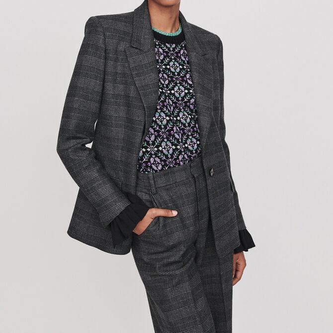 Prince of Wales jacket - See all - MAJE