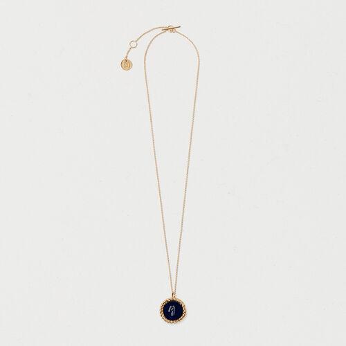 Number 9 medallion - Jewelry - MAJE
