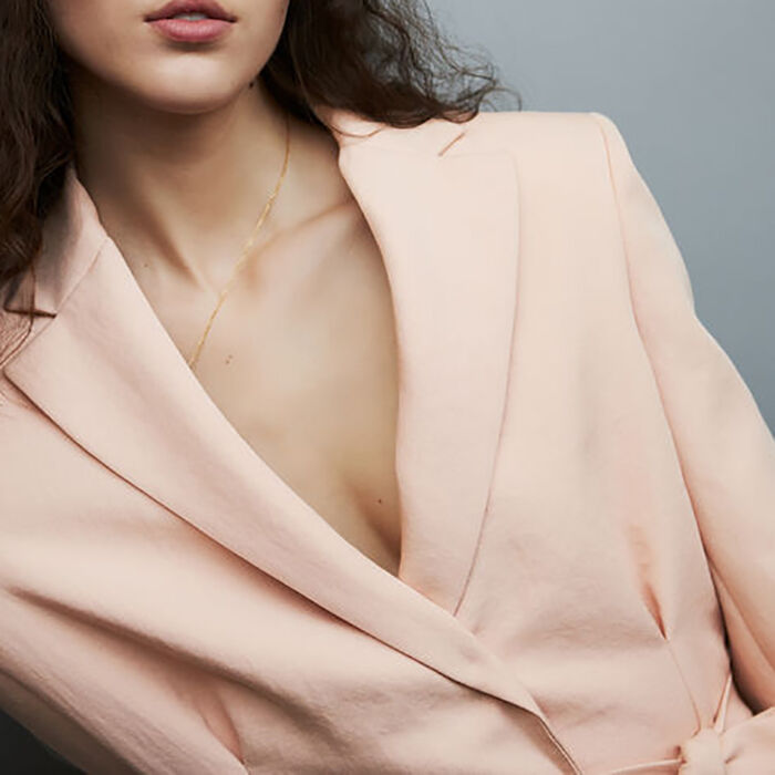 Long suit jacket with clasps : Blazers color Pink