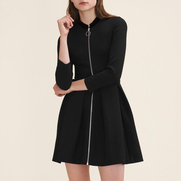 Zipped dress : Dresses color