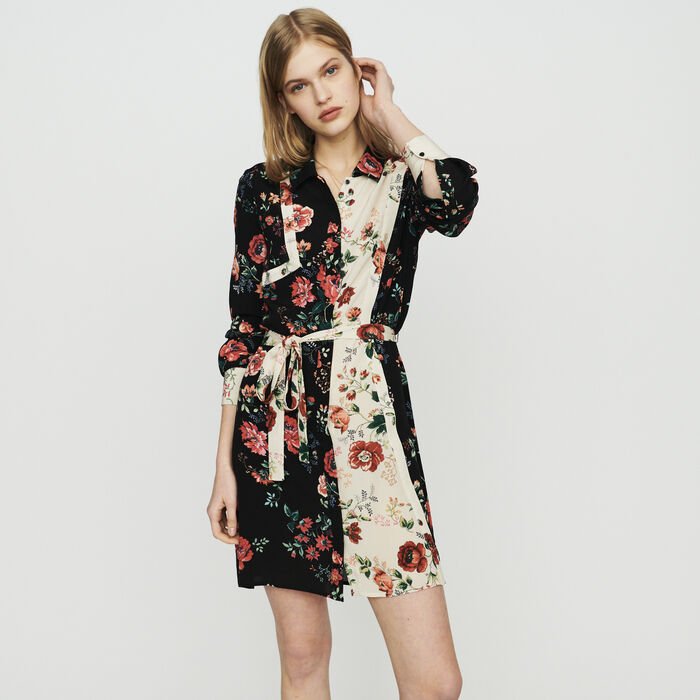 Robe-chemise à imprimé floral : New in : Summer Collection color PRINTED