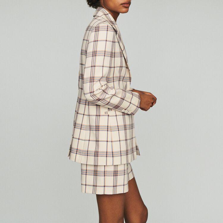 Tailor's jacket with checks : Blazers color CARREAUX