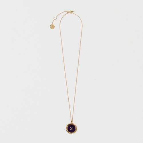 Number 2 medallion - Jewelry - MAJE