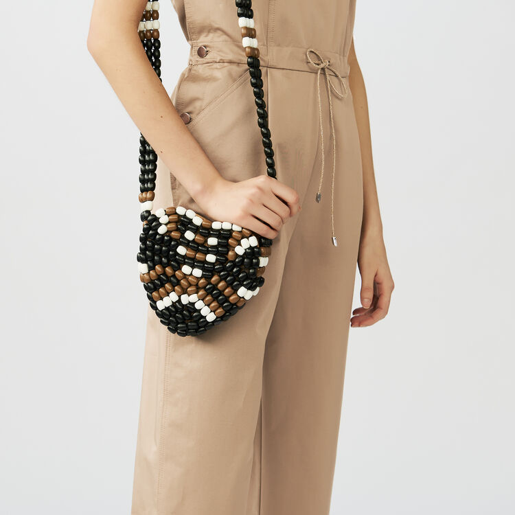 Cotton canvas overalls : Jumpsuits color Beige