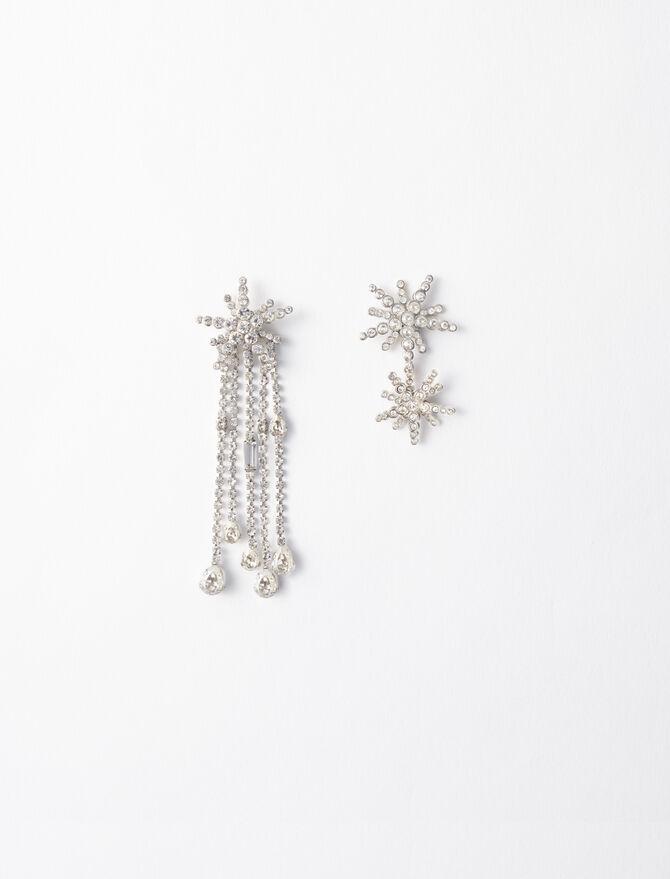 Star strass-earings - Jewelry - MAJE