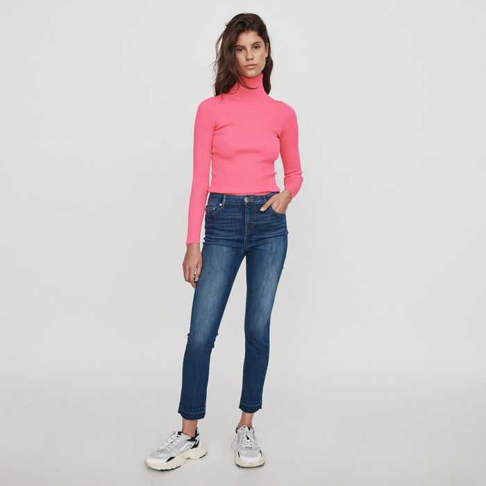 Basic skinny jeans : Trousers & Jeans color Blue