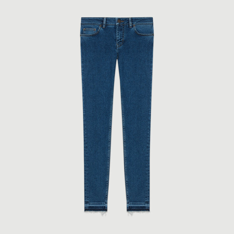 Skinny jeans in denim : Jeans color Denim