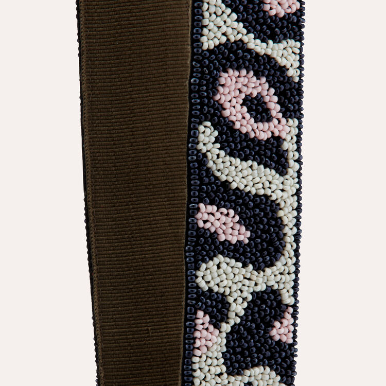 Shoulder straps leopard : Straps color Multico