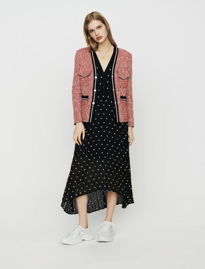 Tweed-style jacket - Blazers - MAJE