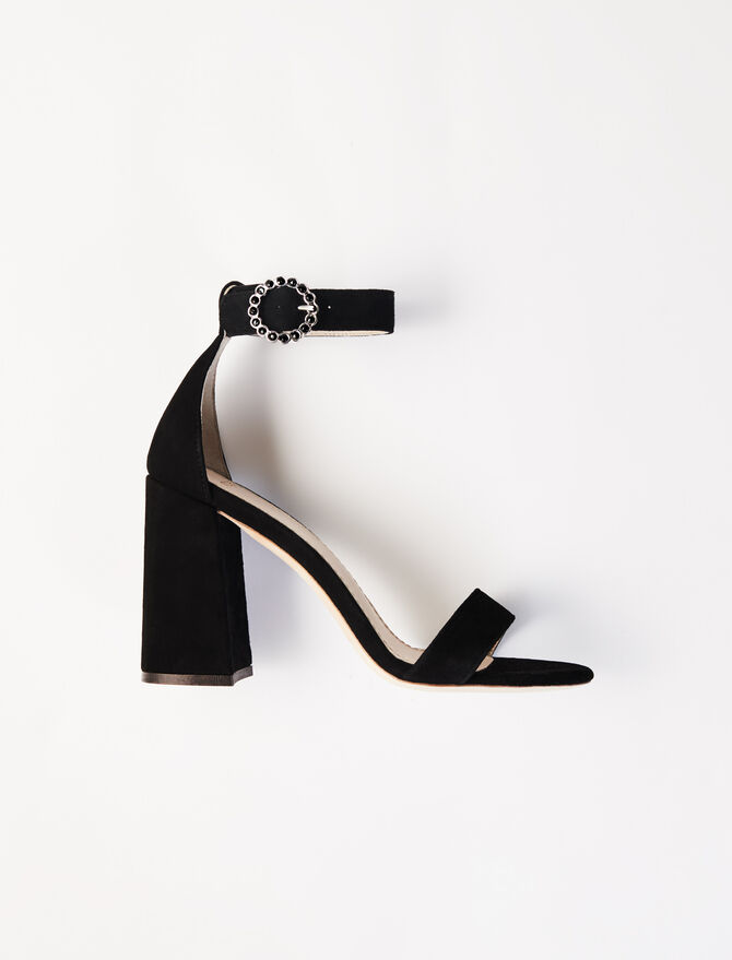 Heeled strappy sandals -  - MAJE