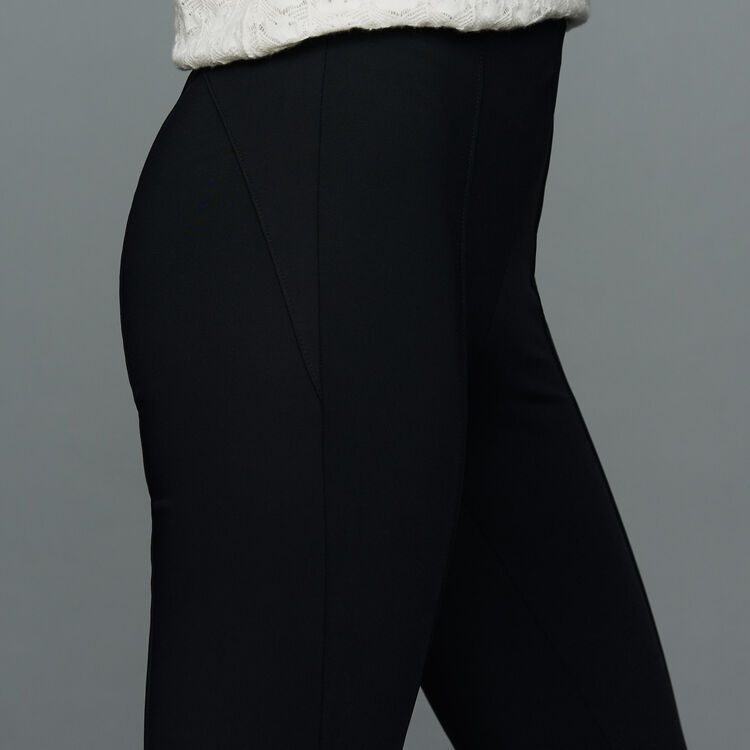 Sport legging : Trousers color Black 210