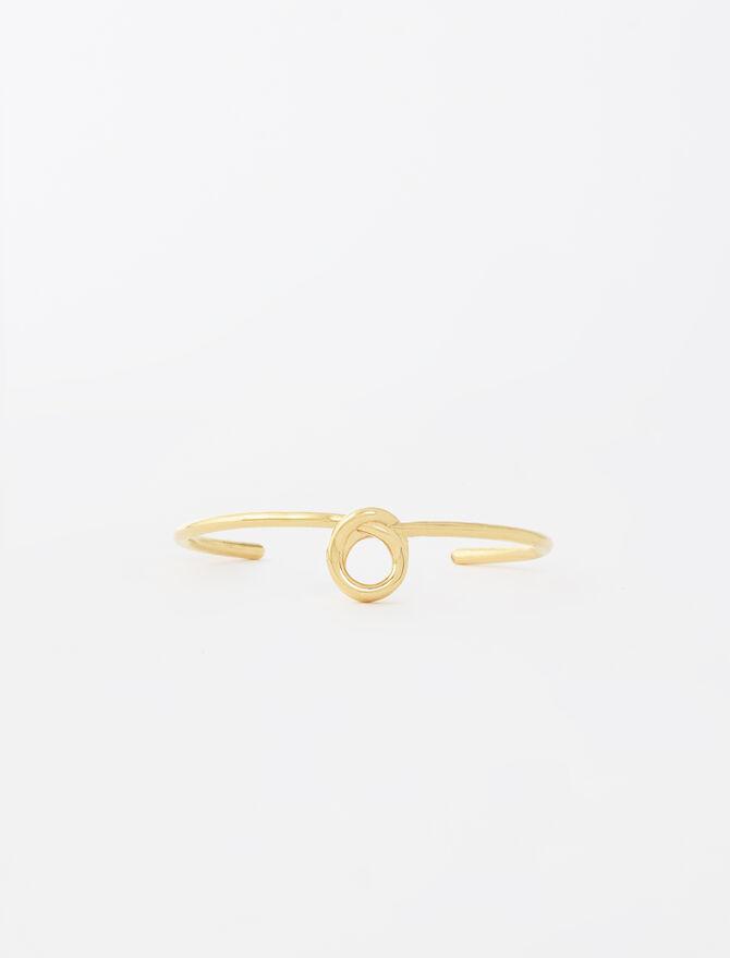 Bangle-style bracelet with knot -  - MAJE