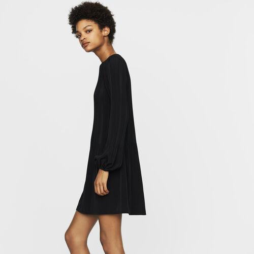 Pleated dress : Dresses color Black 210