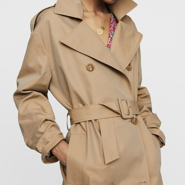 Toile classic trench : Ready to wear color Beige