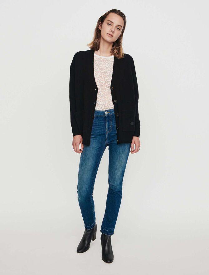 Cashmere cardigan - Knitwear - MAJE