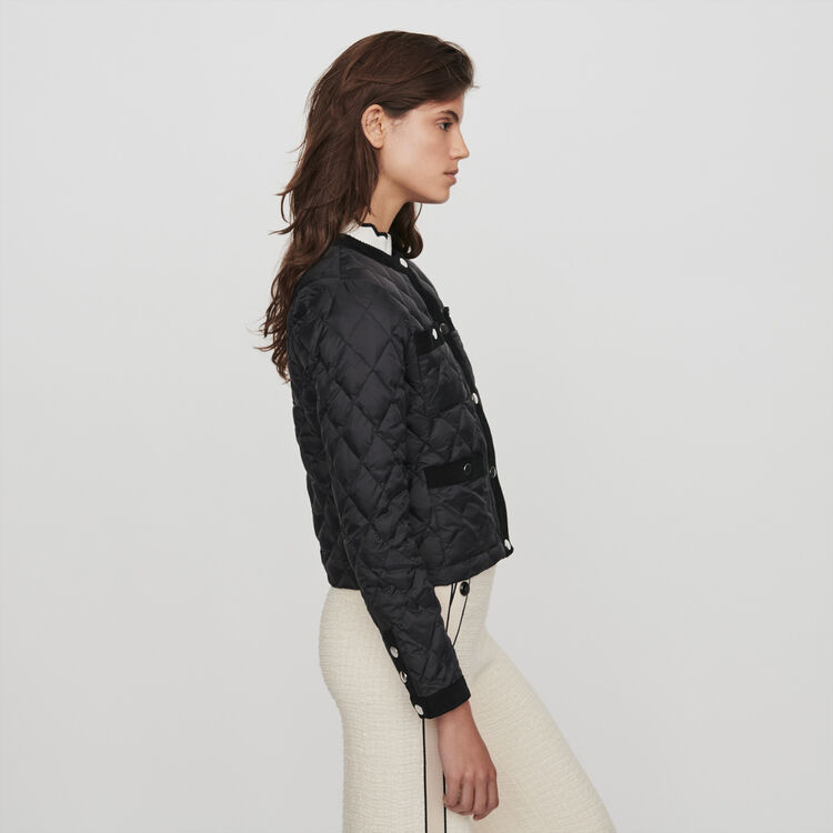 Light puffer with pockets : Coats & Jackets color Black