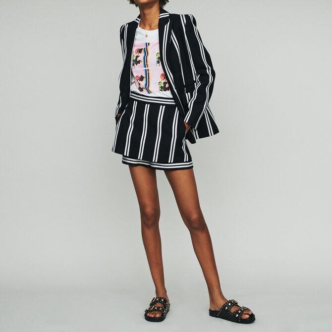 Striped tailor jacket - See all - MAJE