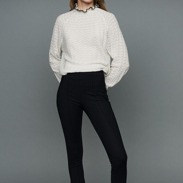 preta sport legging trousers maje com