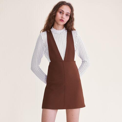 Short strappy dress - Dresses - MAJE