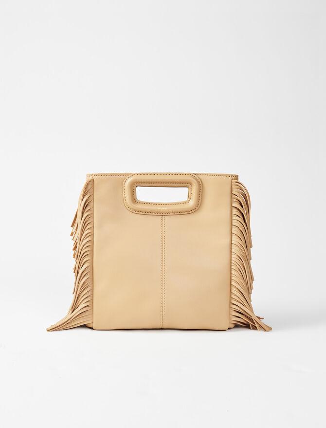 Leather M bag -  - MAJE