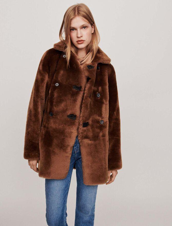Canadian-style reversible shearling - BE-Jackets & Blazers - MAJE