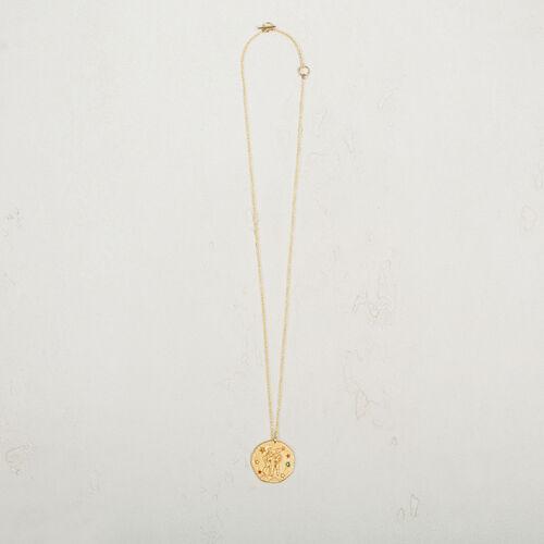 Gemini zodiac sign necklace - Jewelry - MAJE