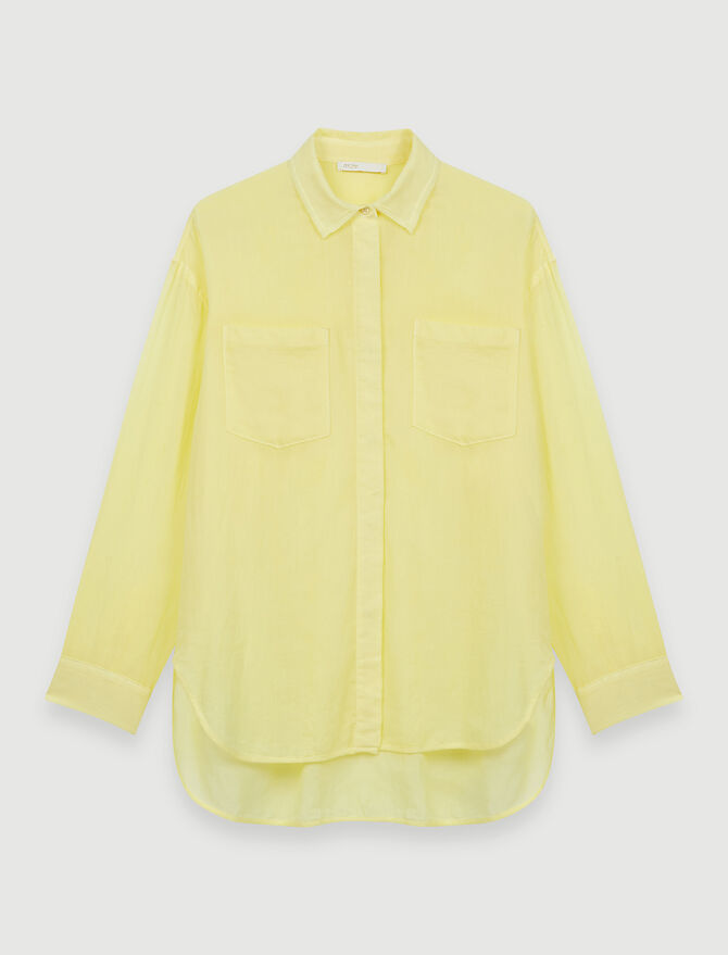 Airy shirt - Tops & Shirts - MAJE