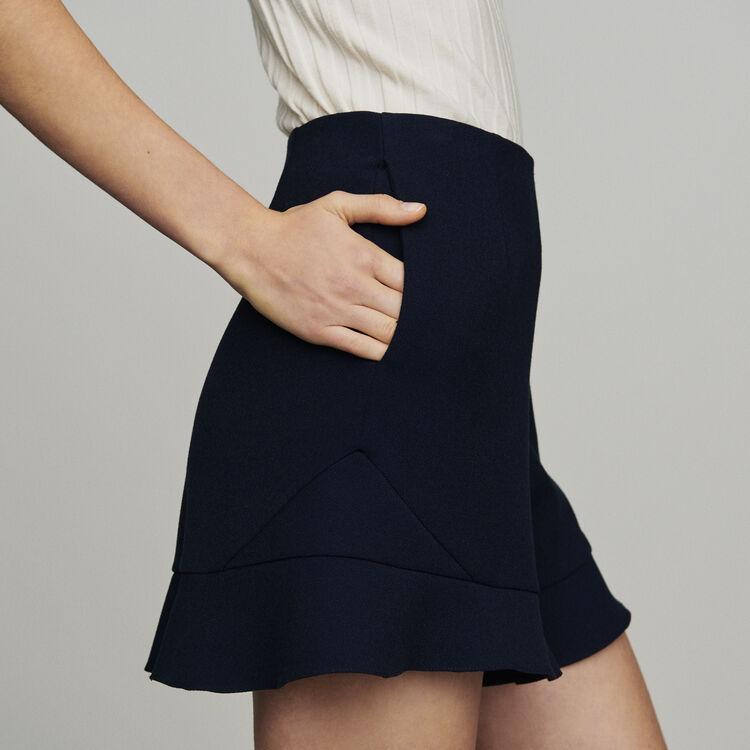Ruffle shorts : Skirts & Shorts color Navy
