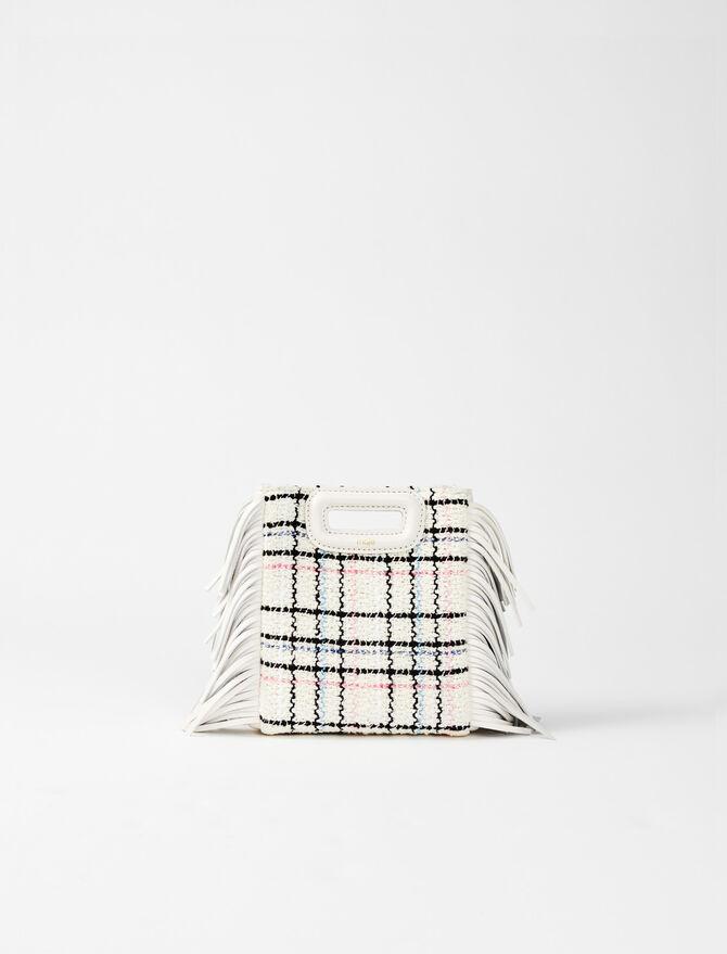 Tweed mini M bag -  - MAJE