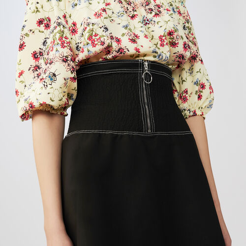 Short smock skirt : Skirts & Shorts color Black 210