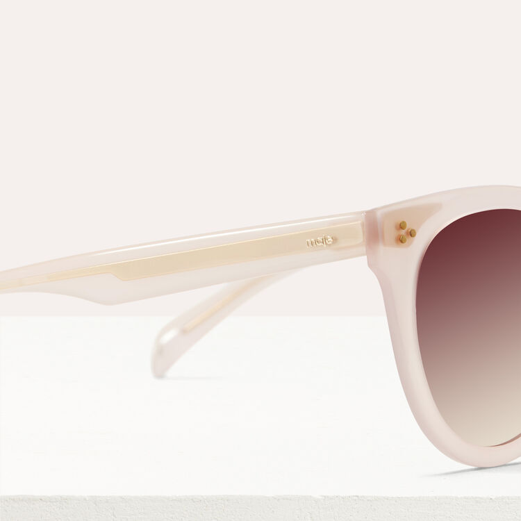 Acetate sunglasses : Eyewear color Pink
