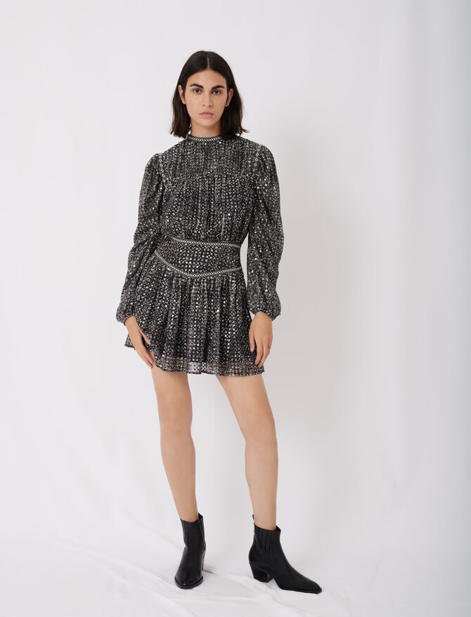 Short sequin dress - New collection - MAJE