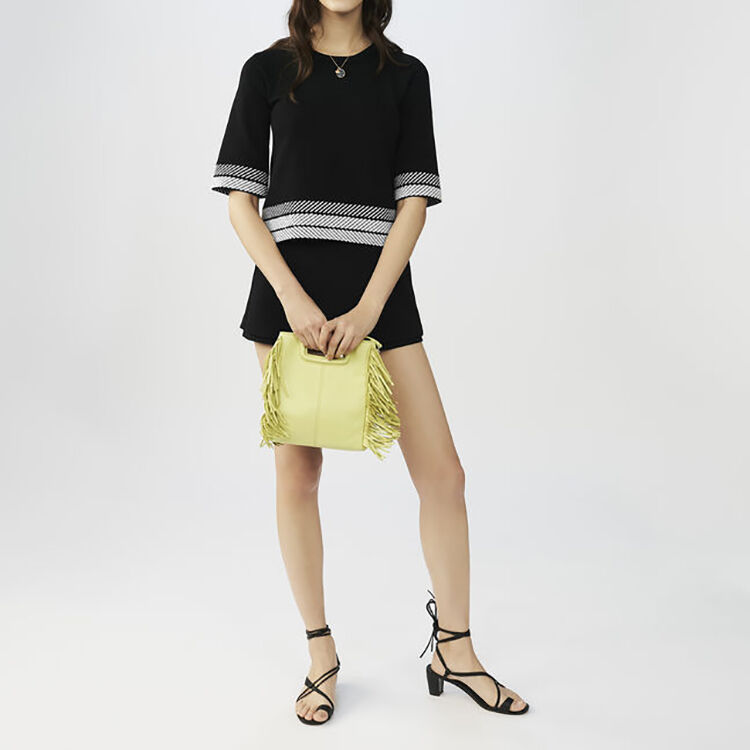Lambskin M bag : Pre-collection color Yellow