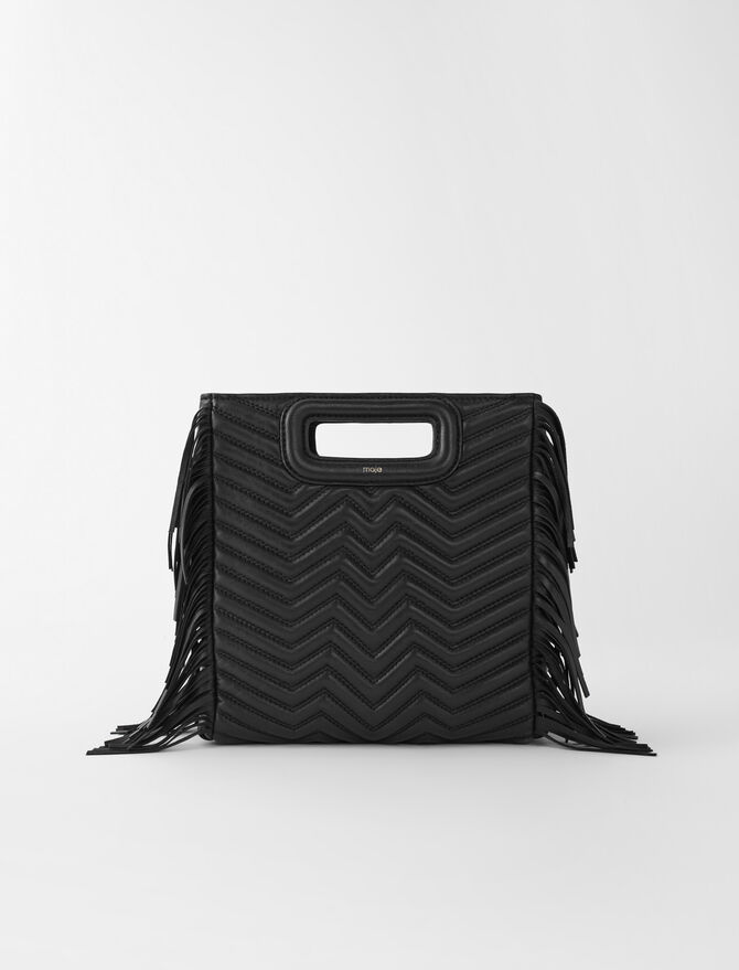 Quilted leather M bag - All bags - MAJE