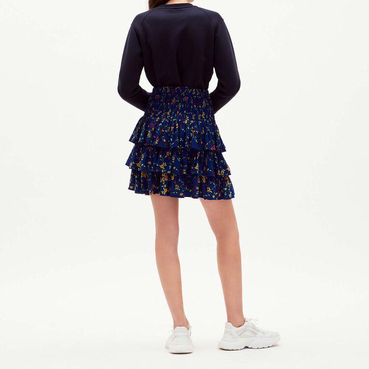 Printed fluid skirt : Skirts & Shorts color PRINTED