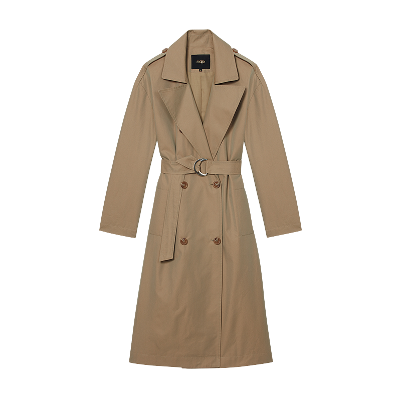 Toile classic trench - Ready to wear - MAJE