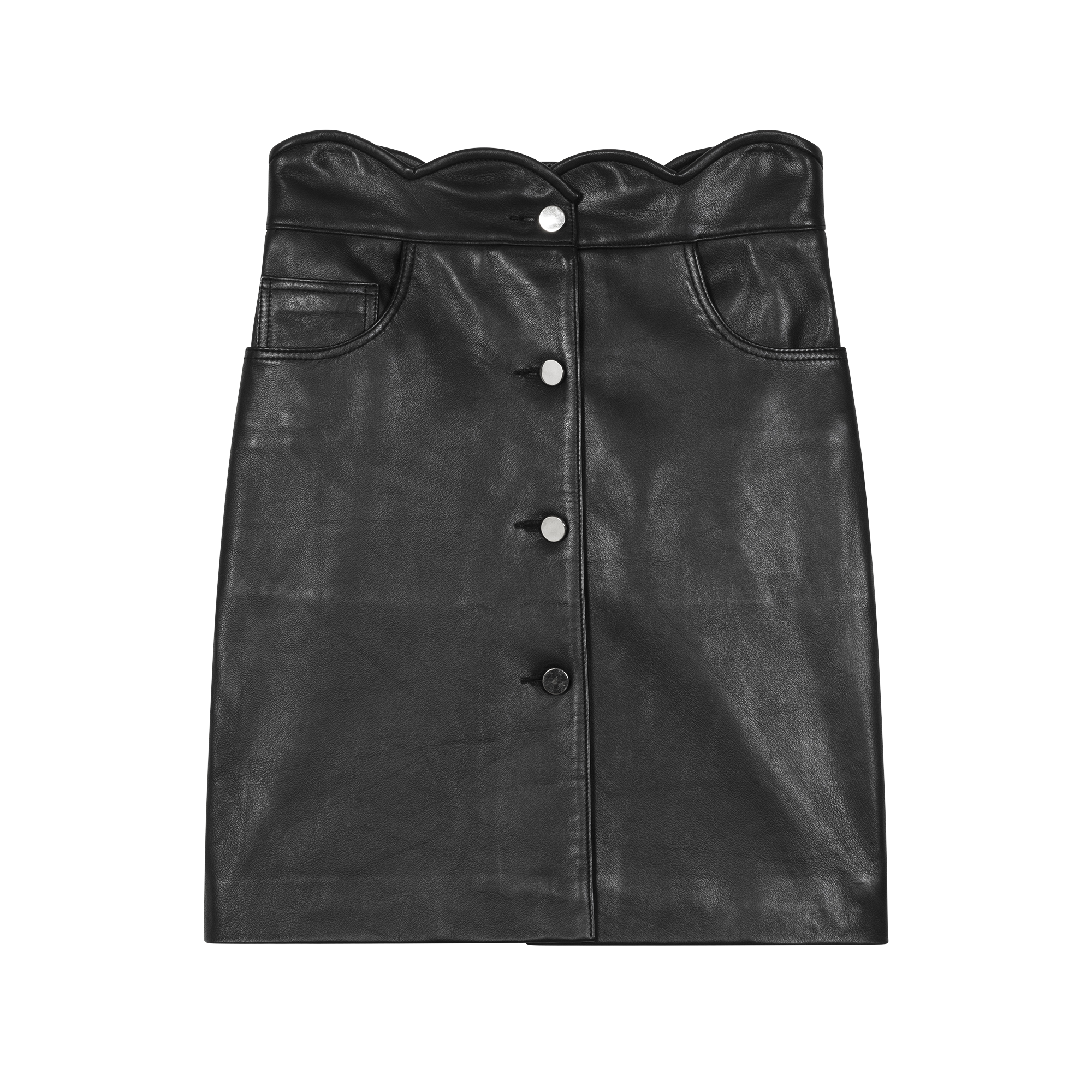 Leather skirt - Skirts & Shorts - MAJE