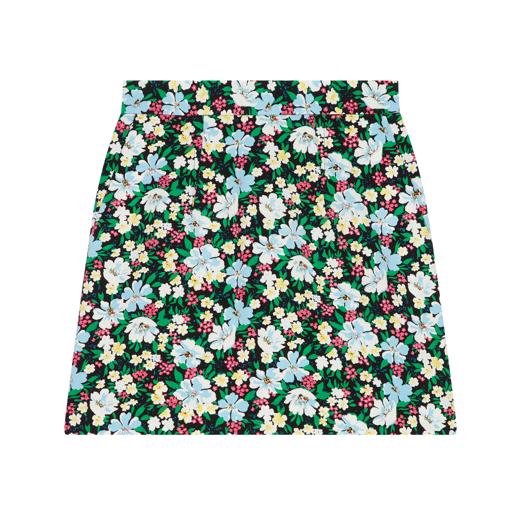 Short skirt with floral print - Skirts & Shorts - MAJE