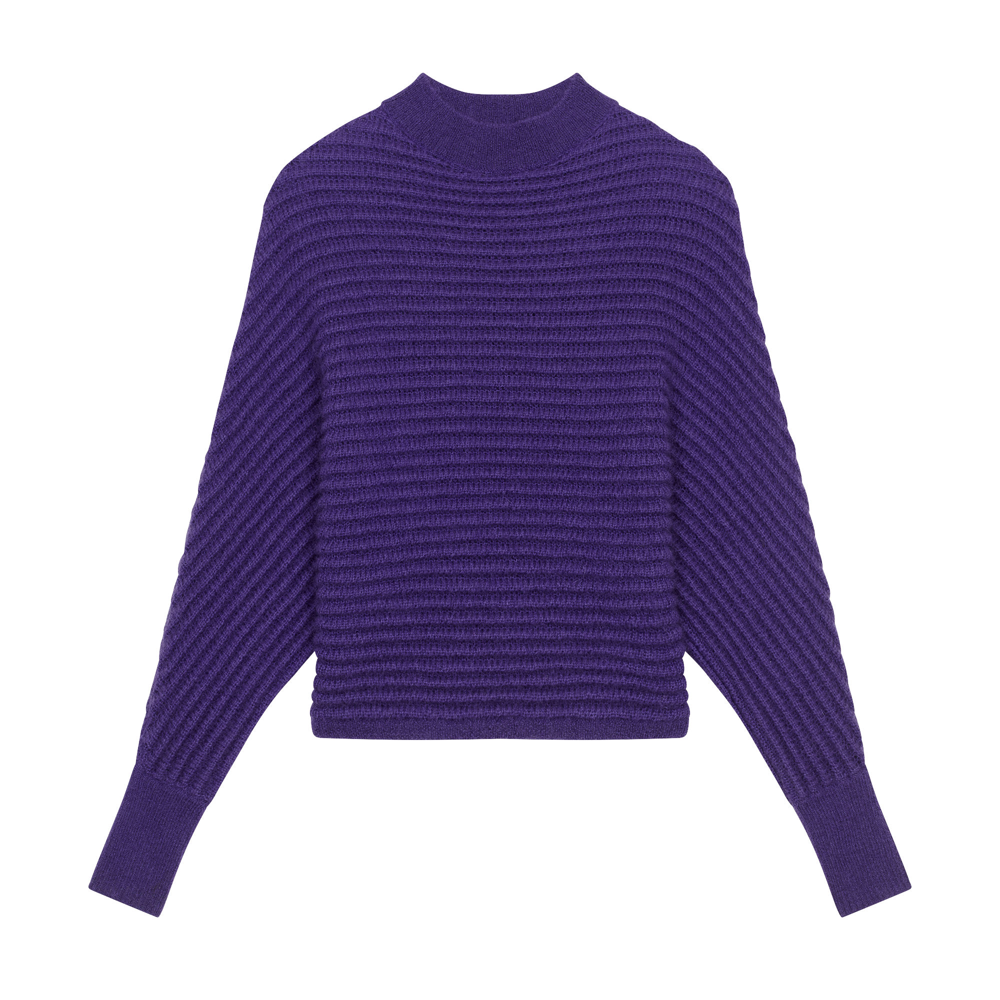 Cropped oversize sweater - Knitwear - MAJE