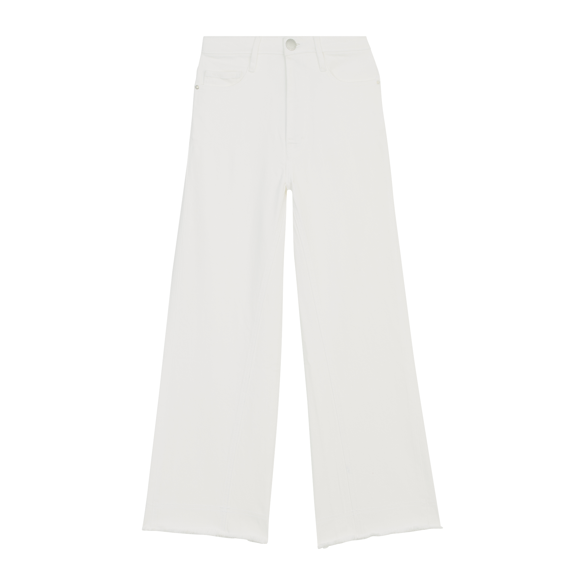 High-waisted wide leg jeans - Trousers & Jeans - MAJE